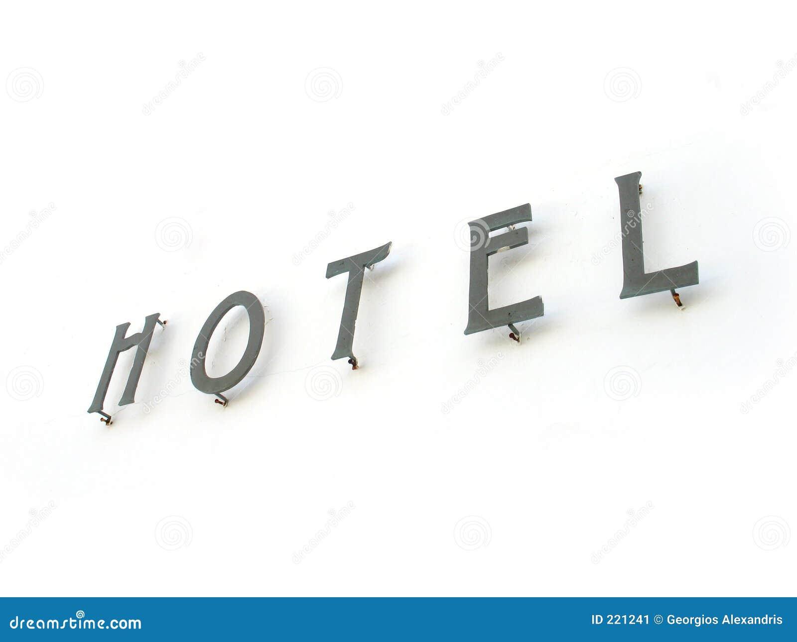 Segno dell hotel