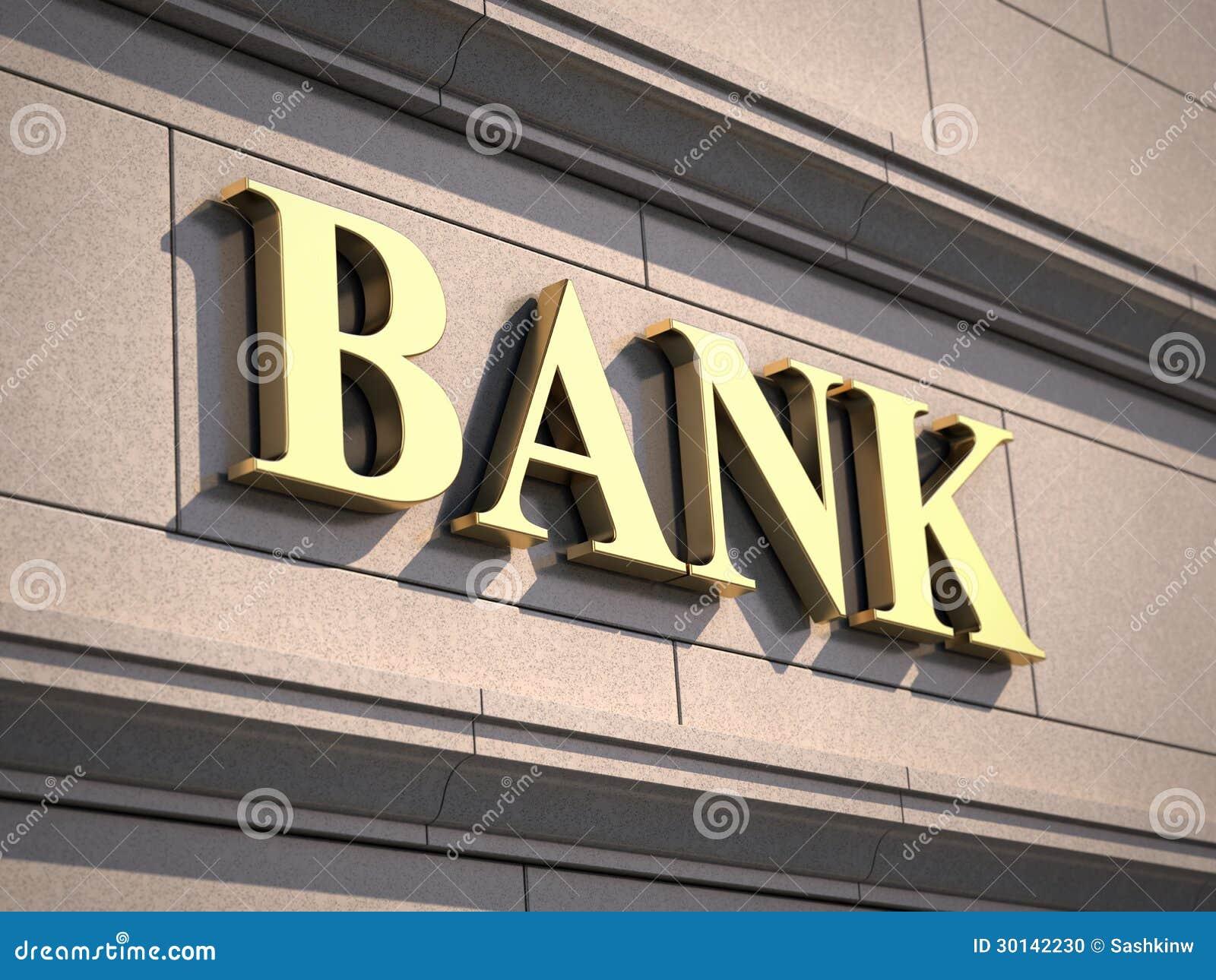 Segno della Banca su costruzione