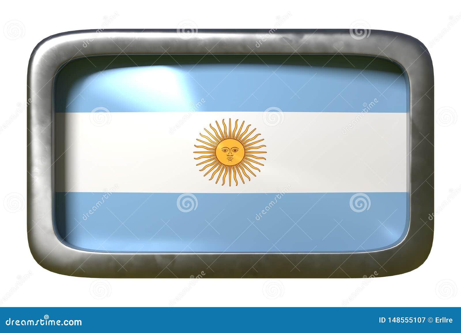 Segno della bandiera dell Argentina