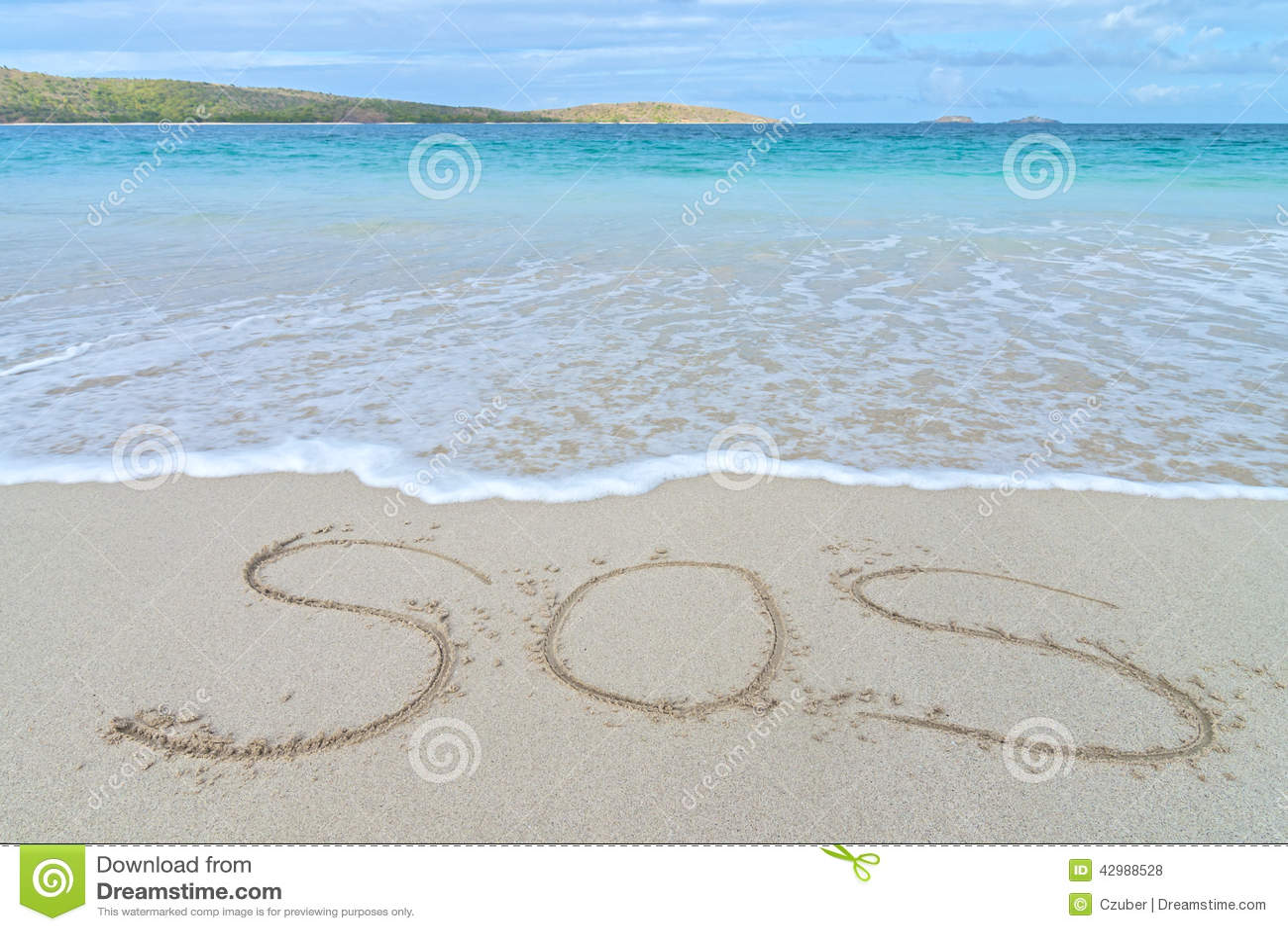 Segno di emergenza di SOS