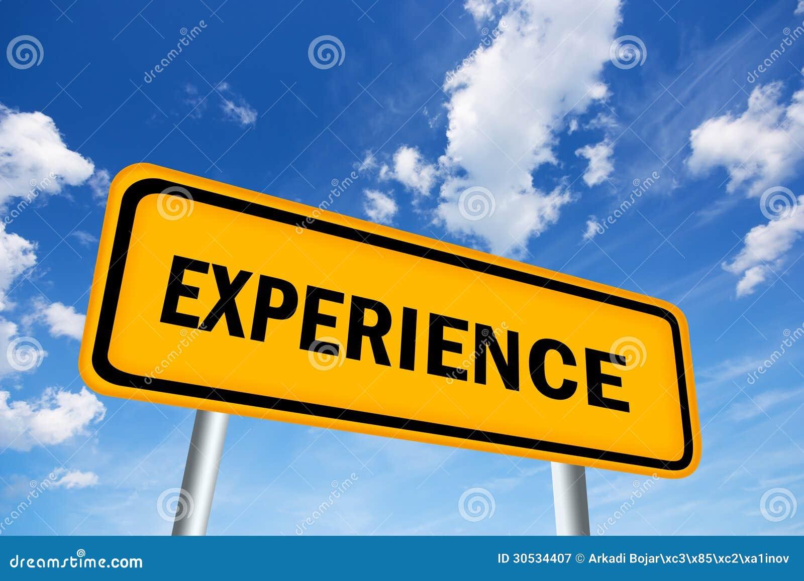 Segno di esperienza