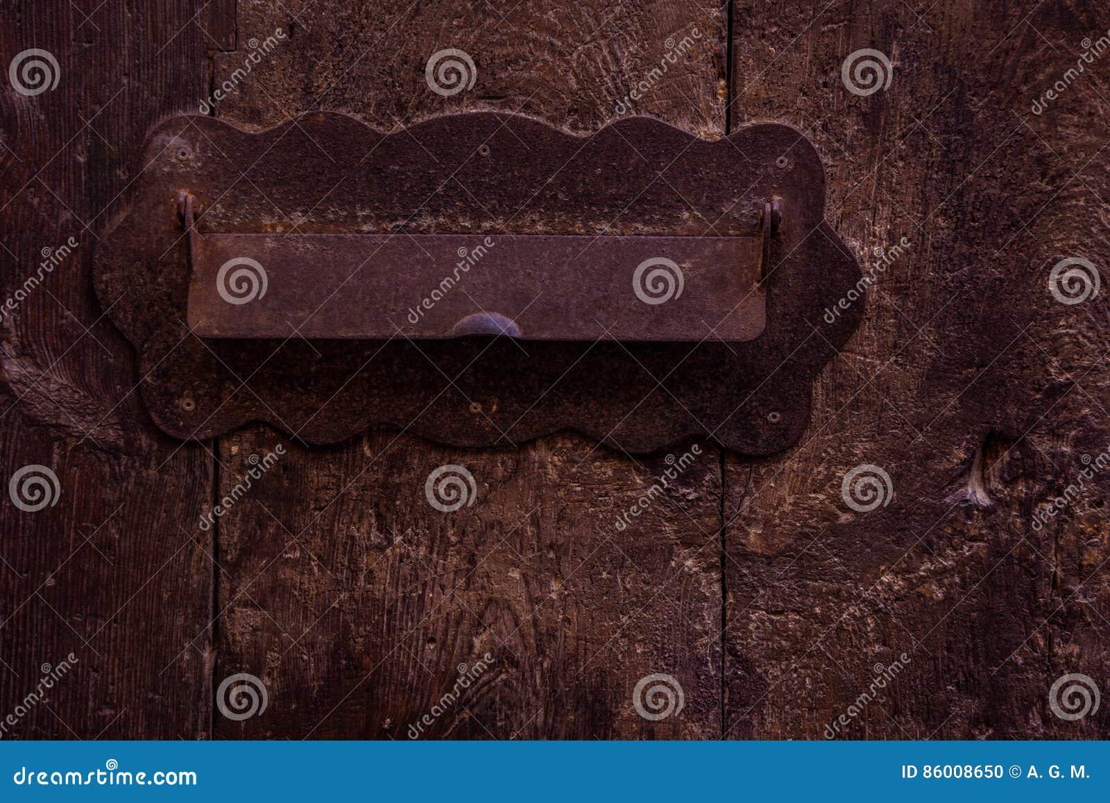 Segno rustico ed elegante della scanalatura di posta - della posta