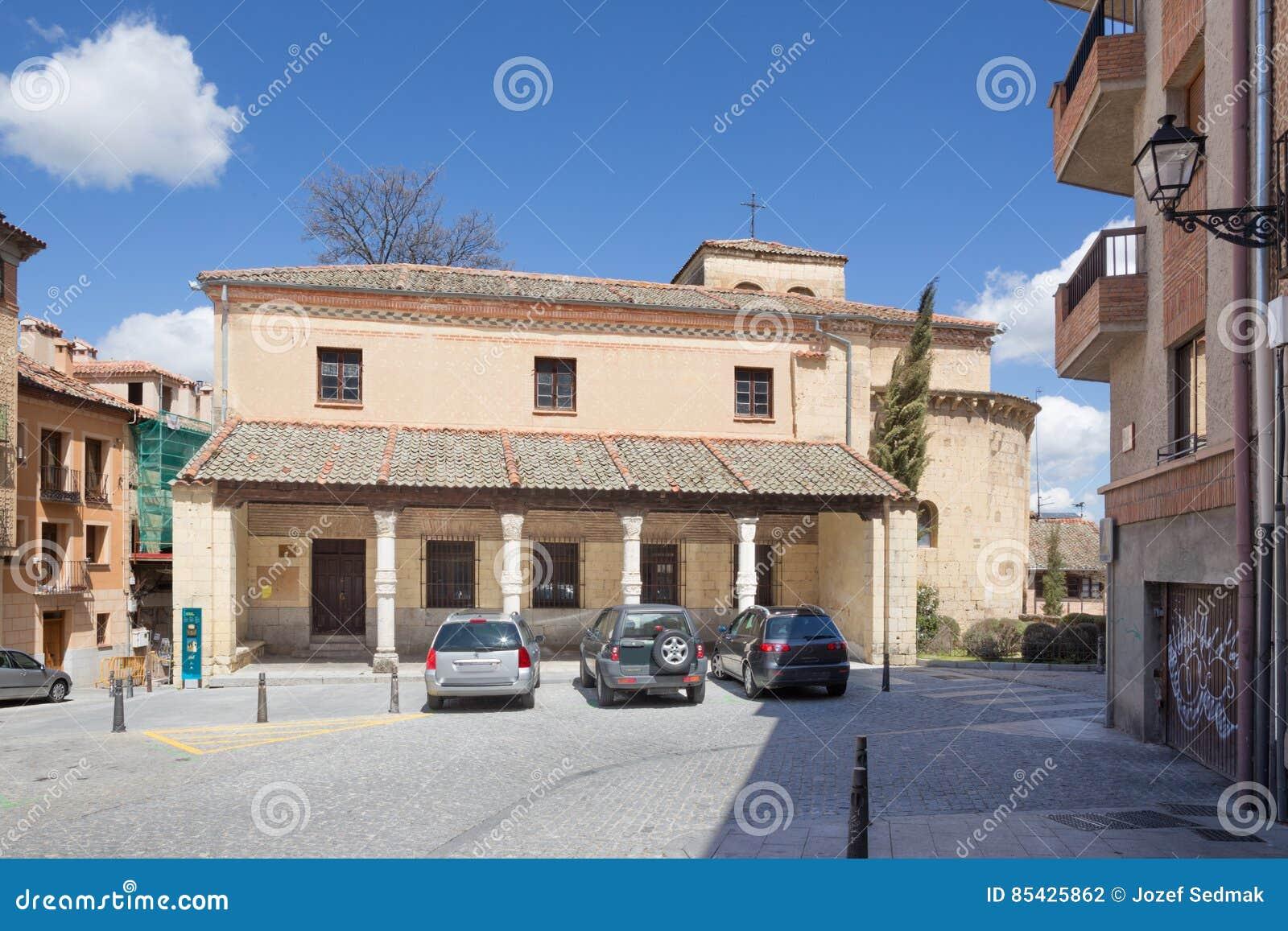 Segovia - η romanesque εκκλησία Iglesia de San Nicolas
