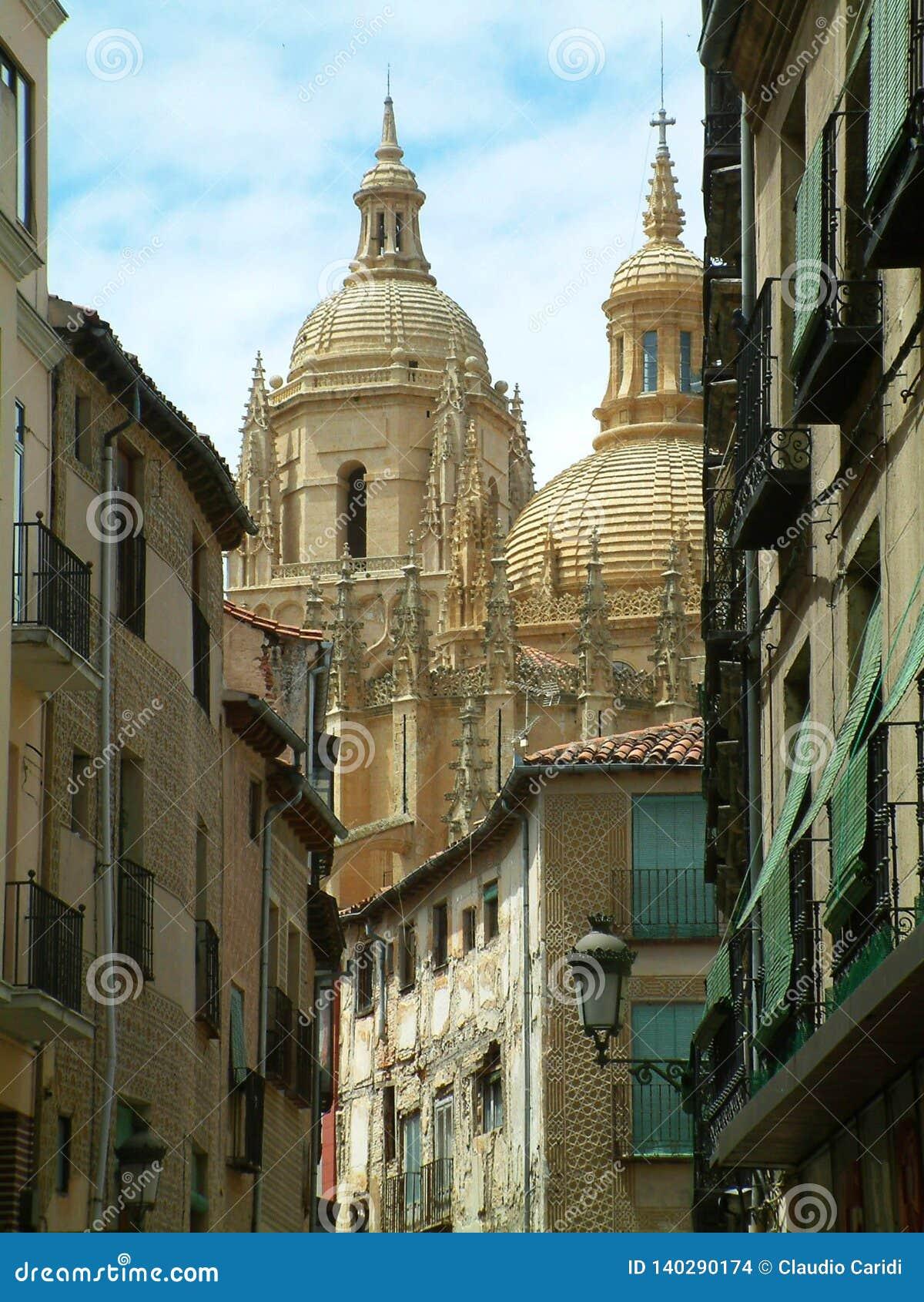 Segovia kathedraal, Segovia, Spanje
