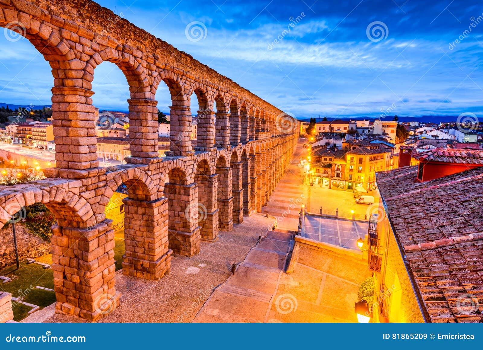 Segovia, Spagna - Castiglia y Leon, l aquedotto