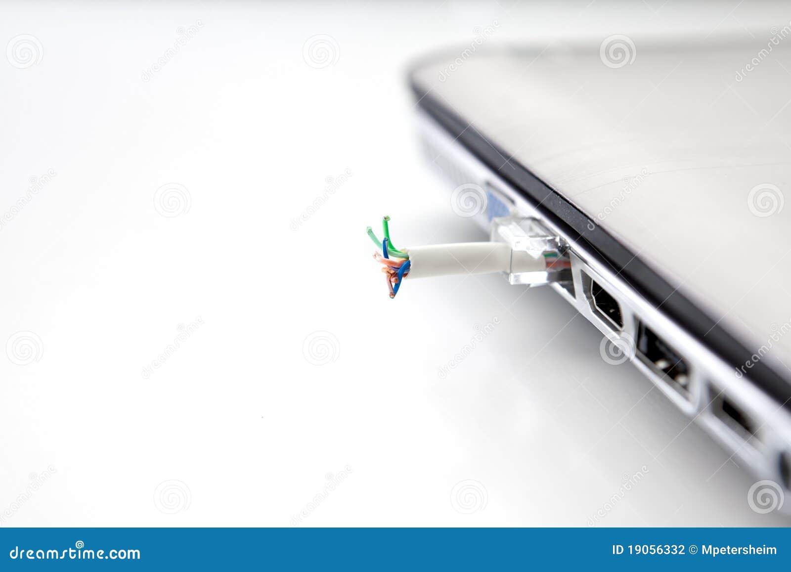 Segurança da rede no portátil