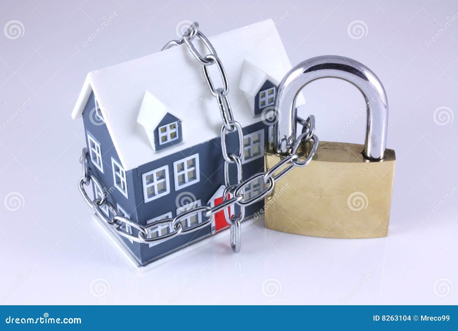 Seguridad de la casa imagenes de archivo imagen 8263104 - Seguridad de casas ...