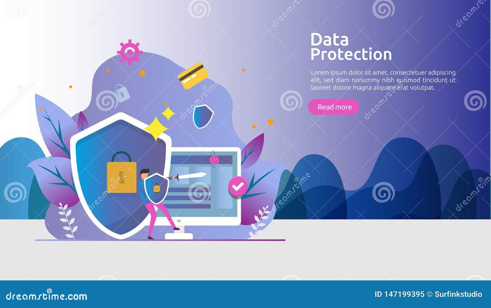 Seguridad y protecci?n de datos confidencial E r