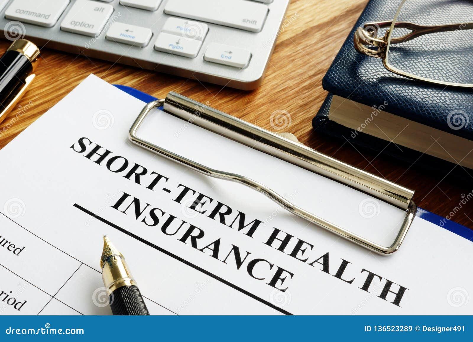 Seguro médico a corto plazo o STM médico a corto plazo
