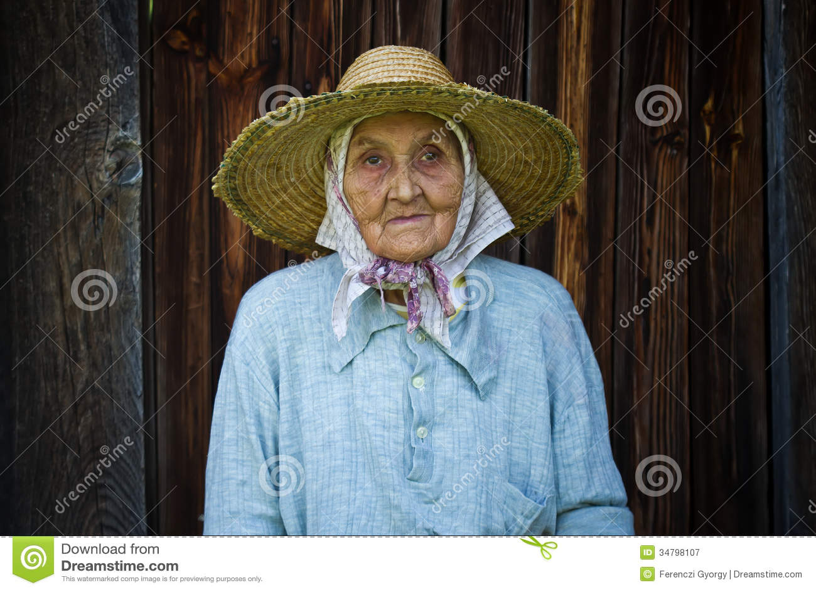 Sehr Alte Frau