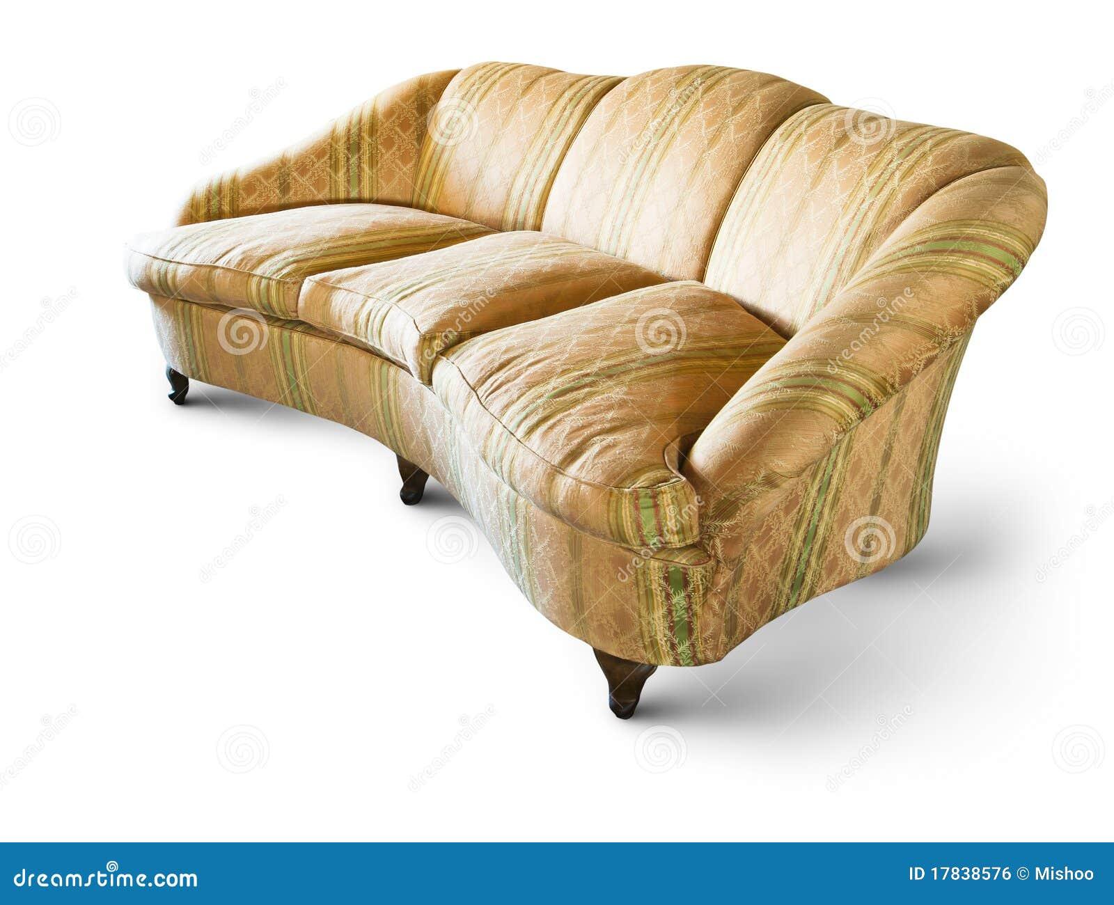 sehr altes sofa lizenzfreies stockbild bild 17838576. Black Bedroom Furniture Sets. Home Design Ideas