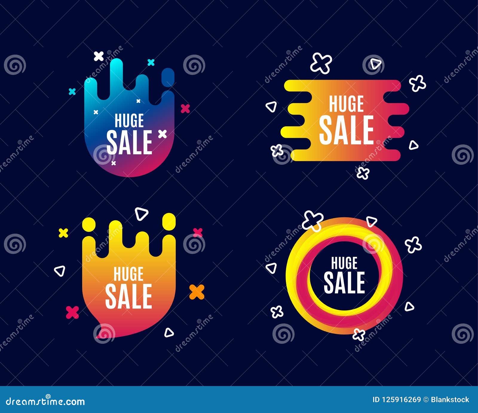 Sehr großer Verkauf Sonderangebotpreiszeichen