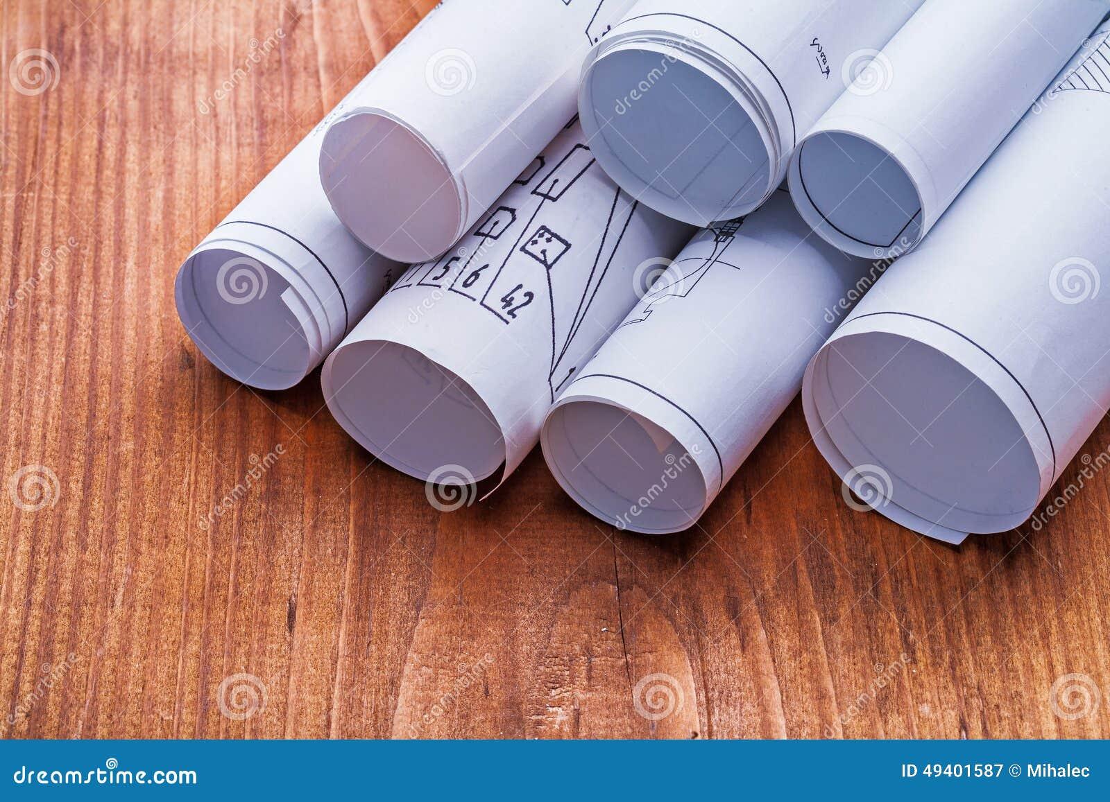 Download Sehr Nah Herauf Ansicht über Stapel Pläne Alt Stockbild - Bild von holz, tabelle: 49401587