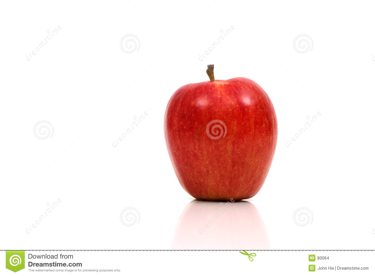 Sehr roter Apple
