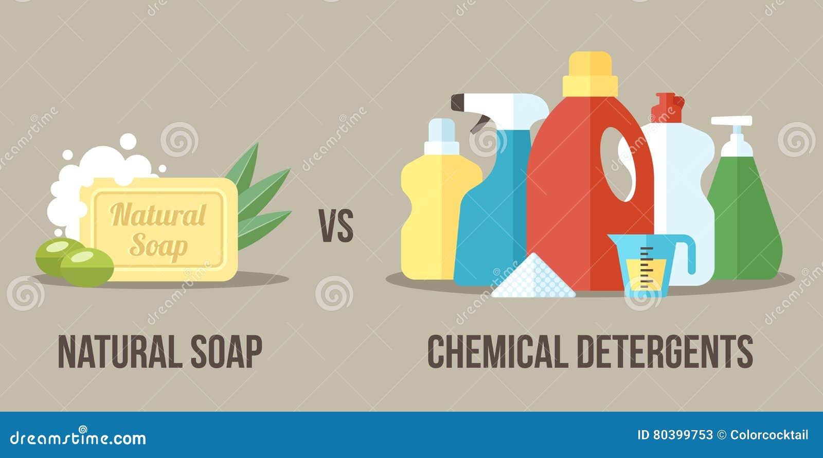 Seife gegen Reinigungsmittel
