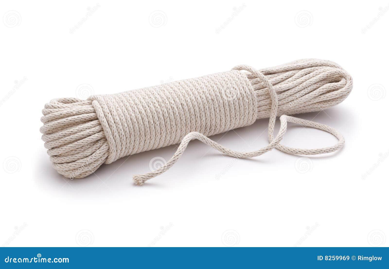 Seil-Netzkabel entwirrt