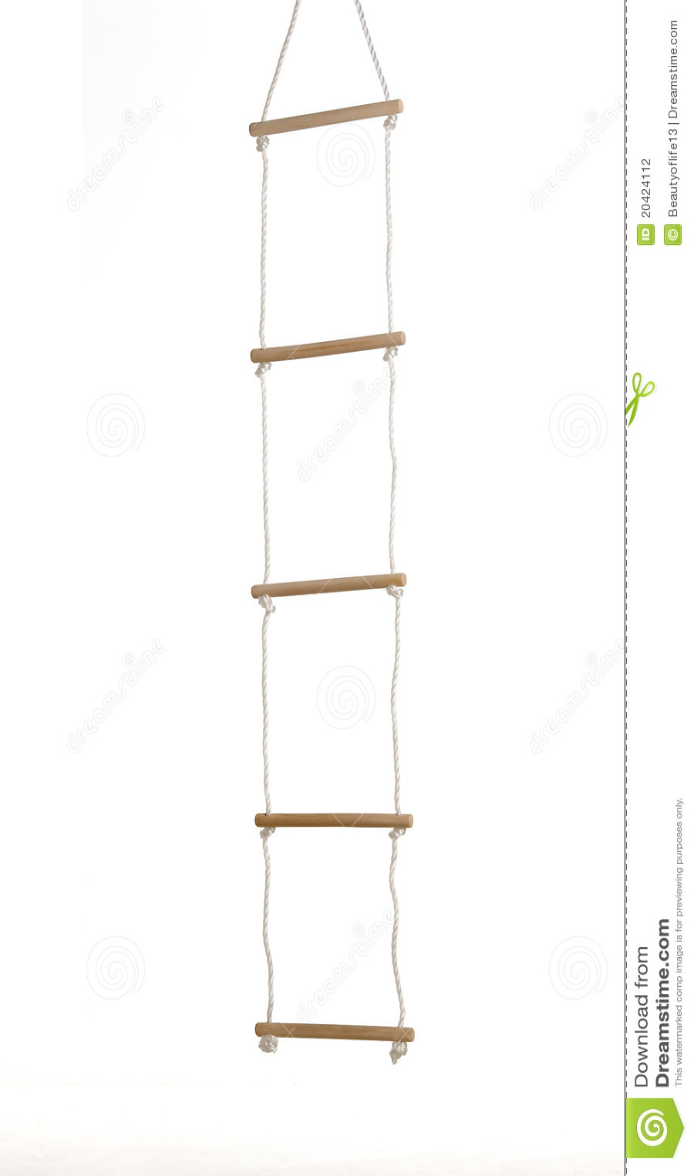 Seil-Strichleiter