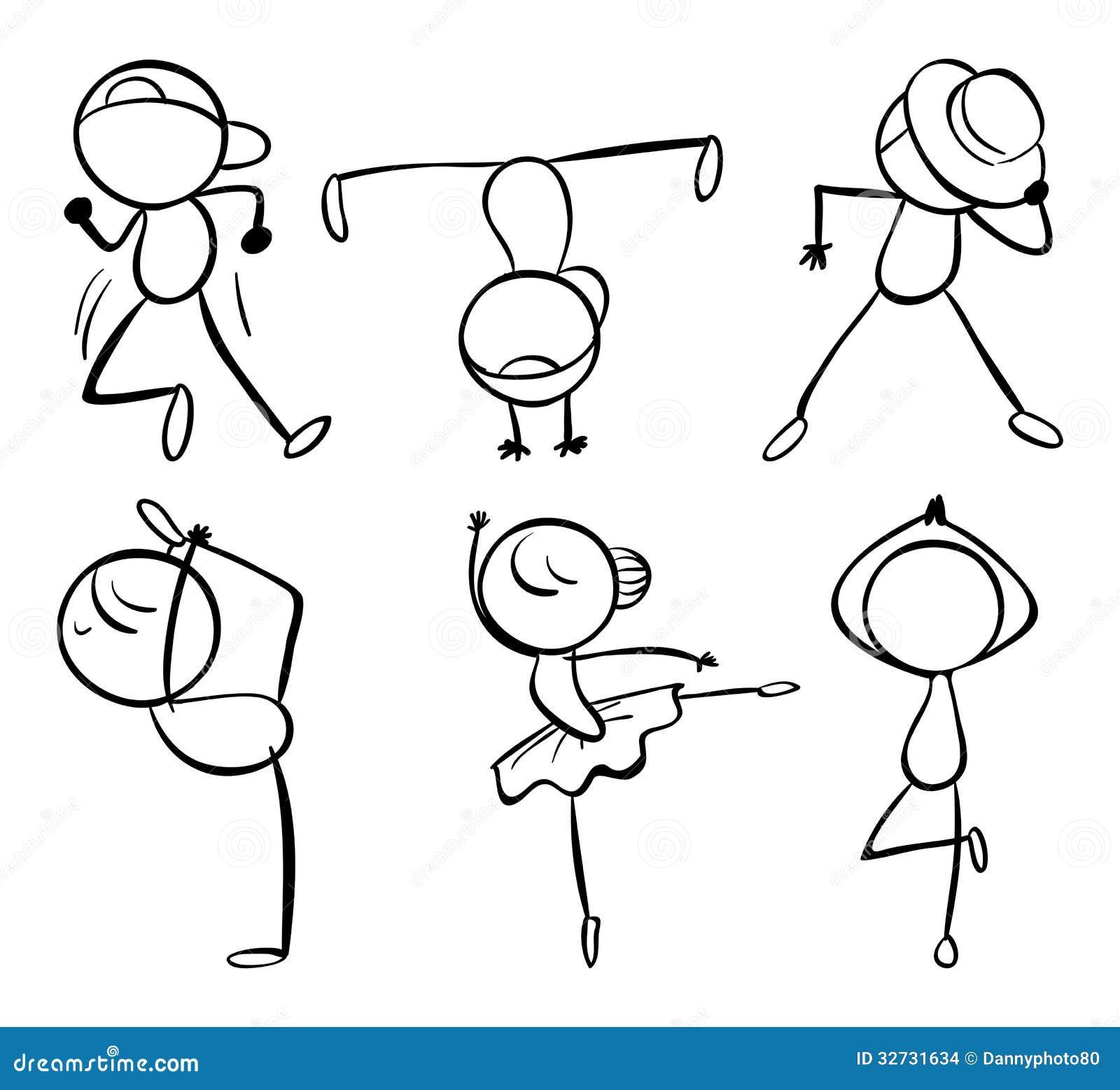Seis diferentes tipos de movimientos de la danza imagenes - Tipos de sensores de movimiento ...