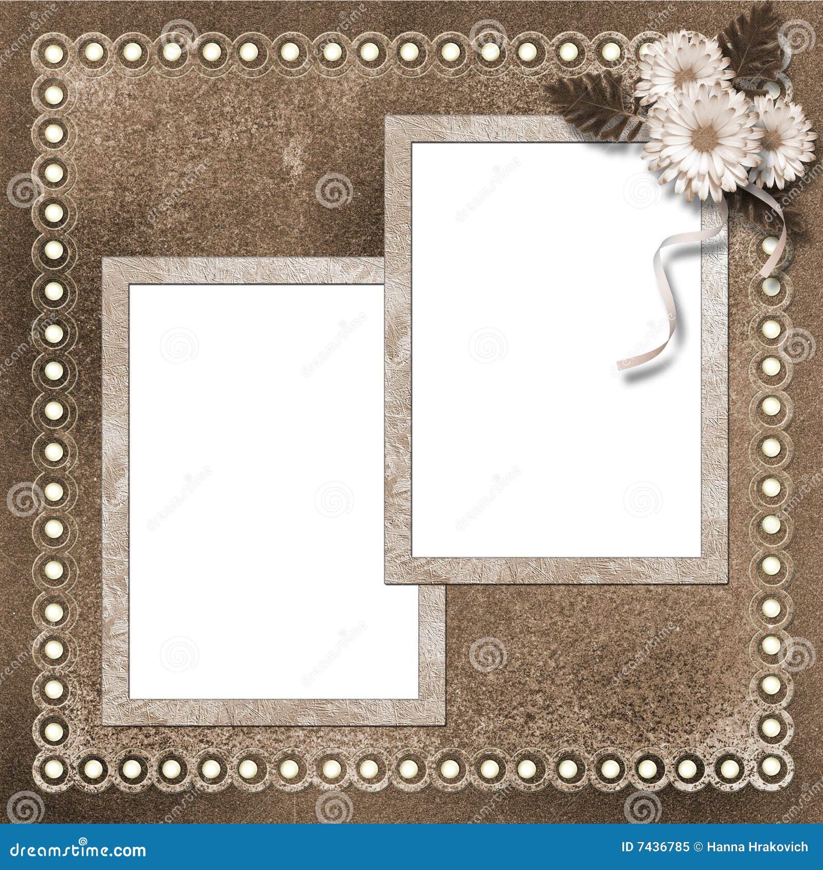 Seite für Foto oder Einladung