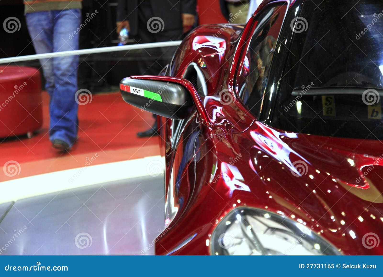 Seitenansicht Alfa Romeo-4C