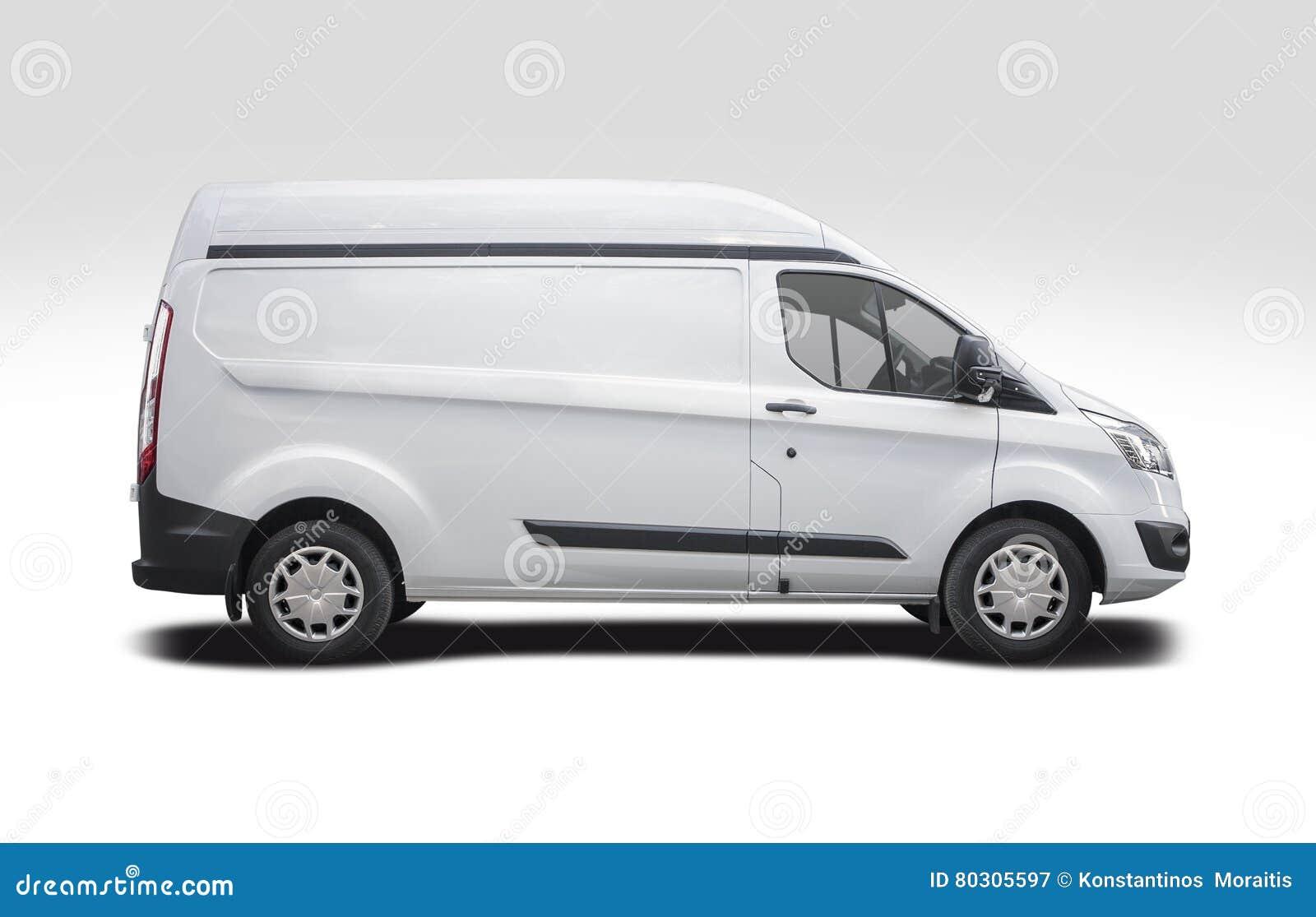 Seitenansicht Ford Transits