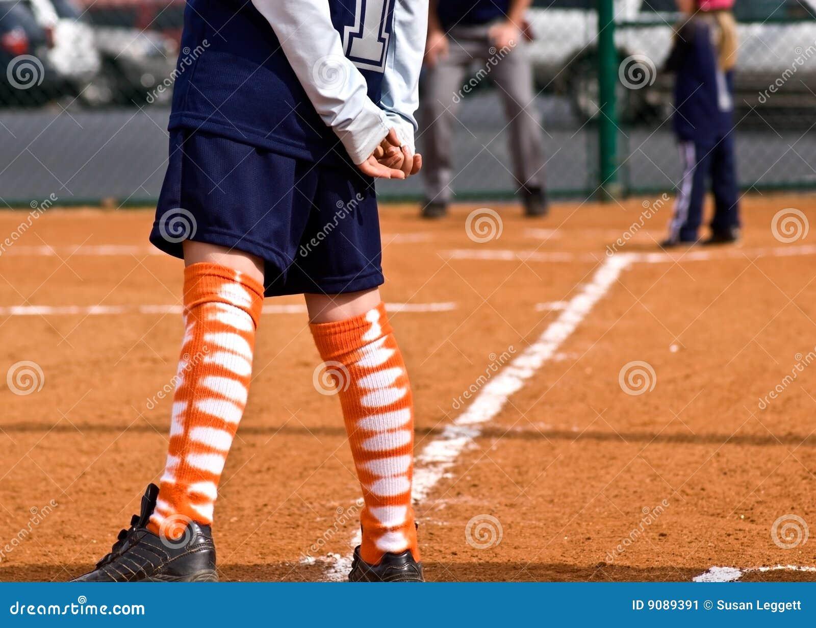 Seitentriebs-/Third Base-/Mädchen-Softball