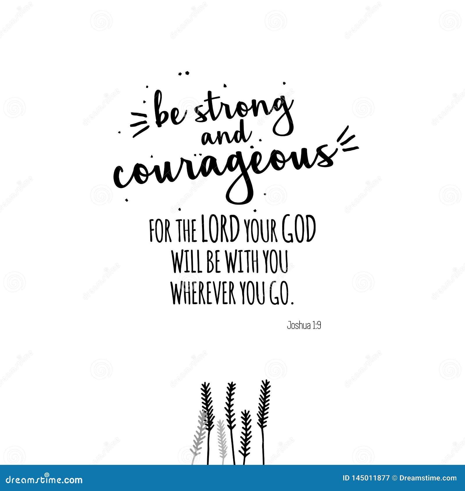 Seja citações fortes e corajosas