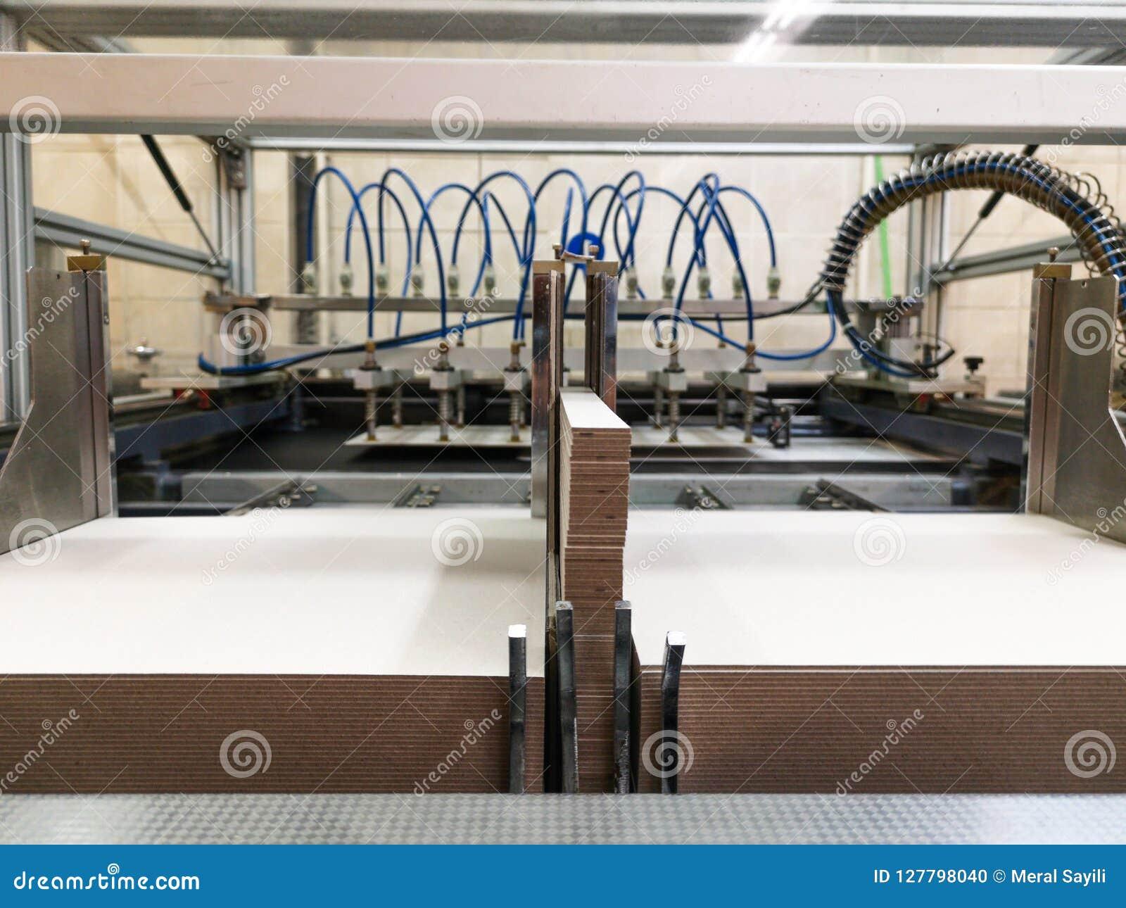 Sekcje drukowe maszyny