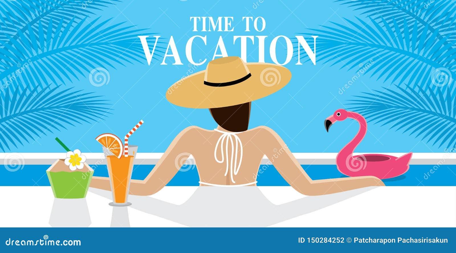 Seksowna dziewczyna na wakacje