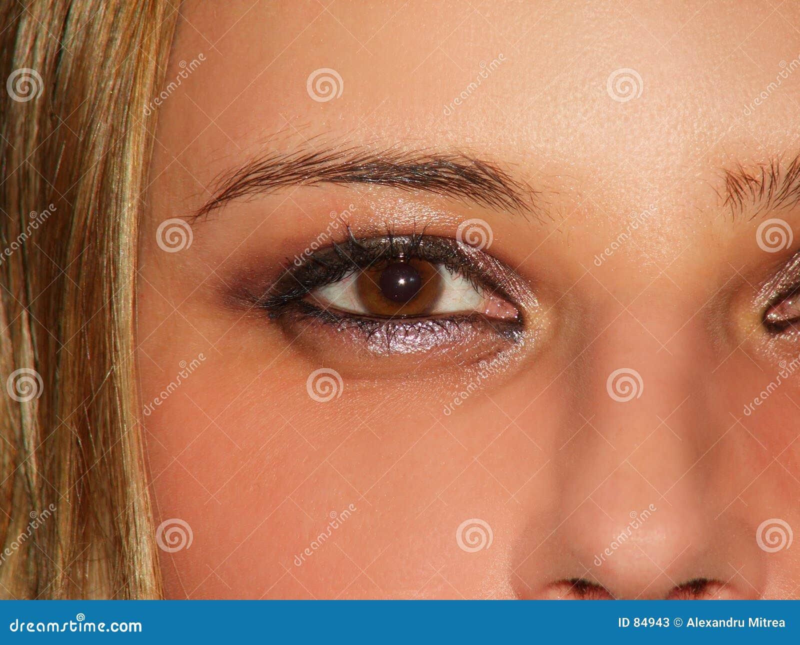 Seksowne oczy