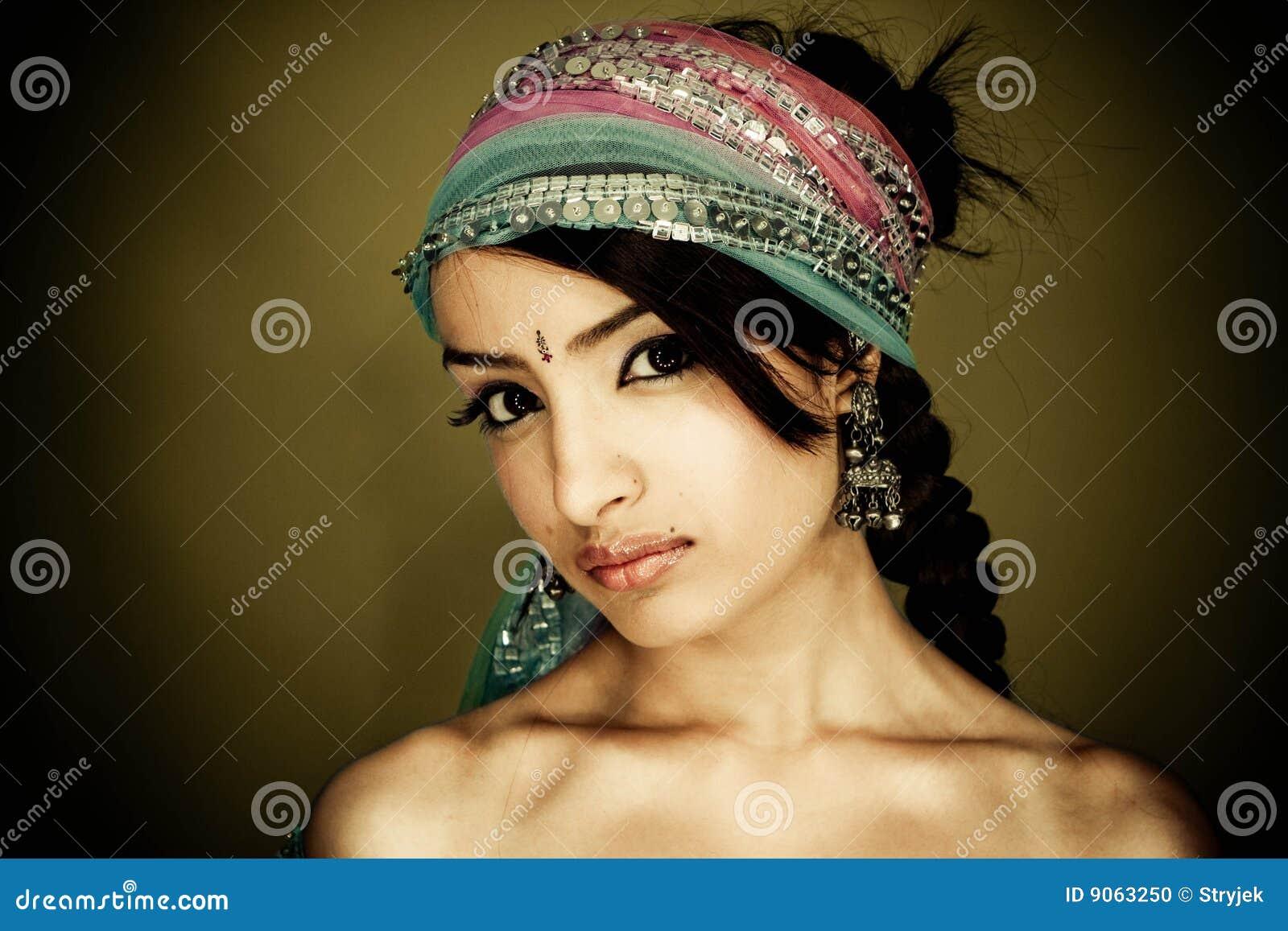 Seksowny dziewczyna hindus