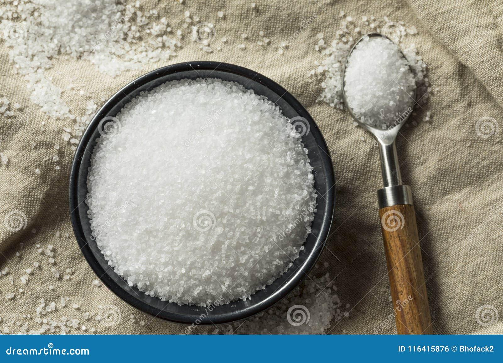 Sel brut organique de mer
