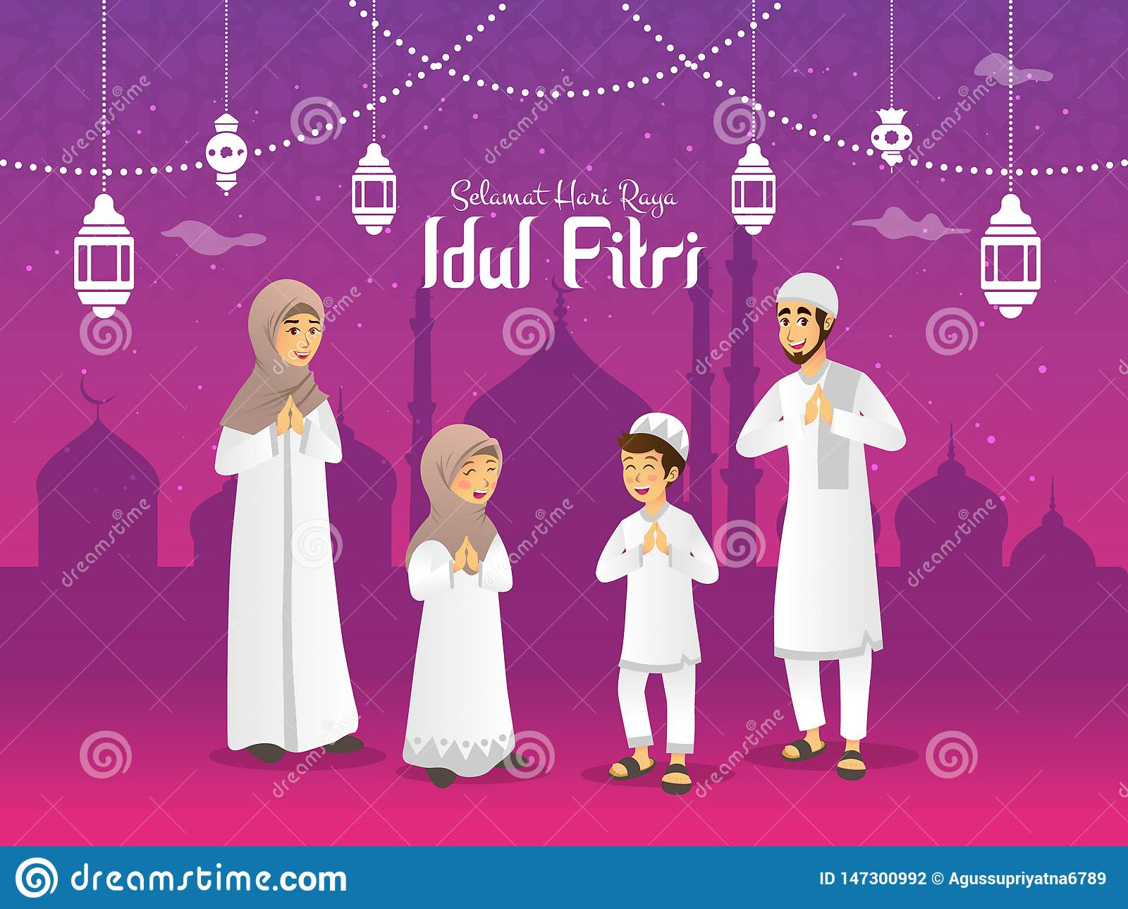 Idul Fitri Stock Illustrations 1 656 Idul Fitri Stock Illustrations Vectors Clipart Dreamstime