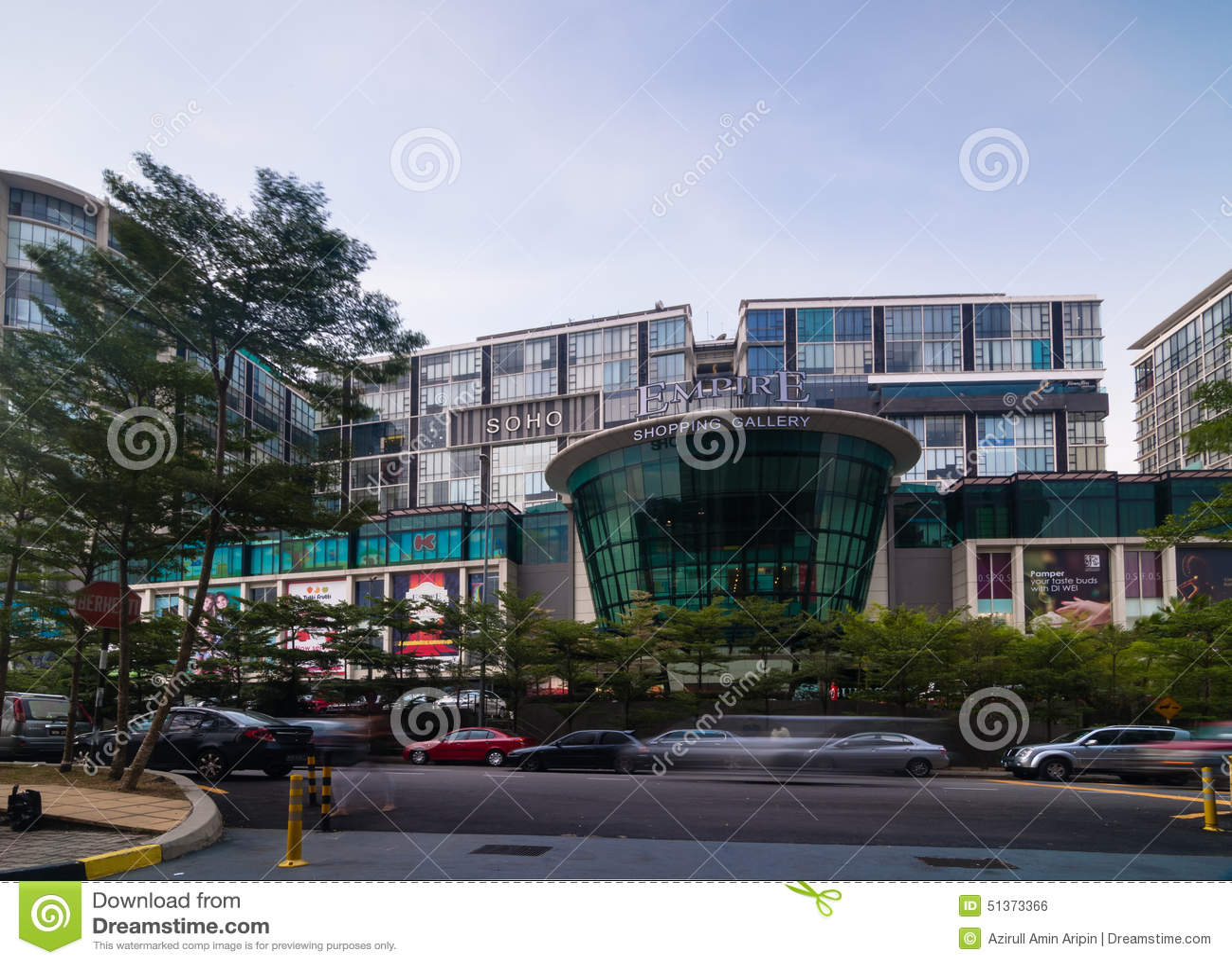 SELANGOR - 18. MAI: Dieses ist neue Einkaufszentrumanruf Reich-Einkaufsgalerie am 18. Mai 2012 in subang jaya, Selangor, Malaysia