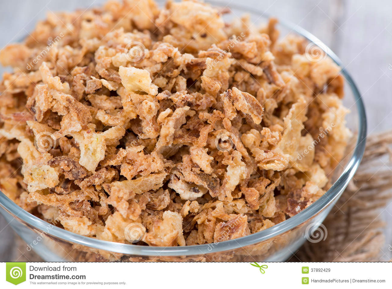 Selbst gemachter Fried Onions