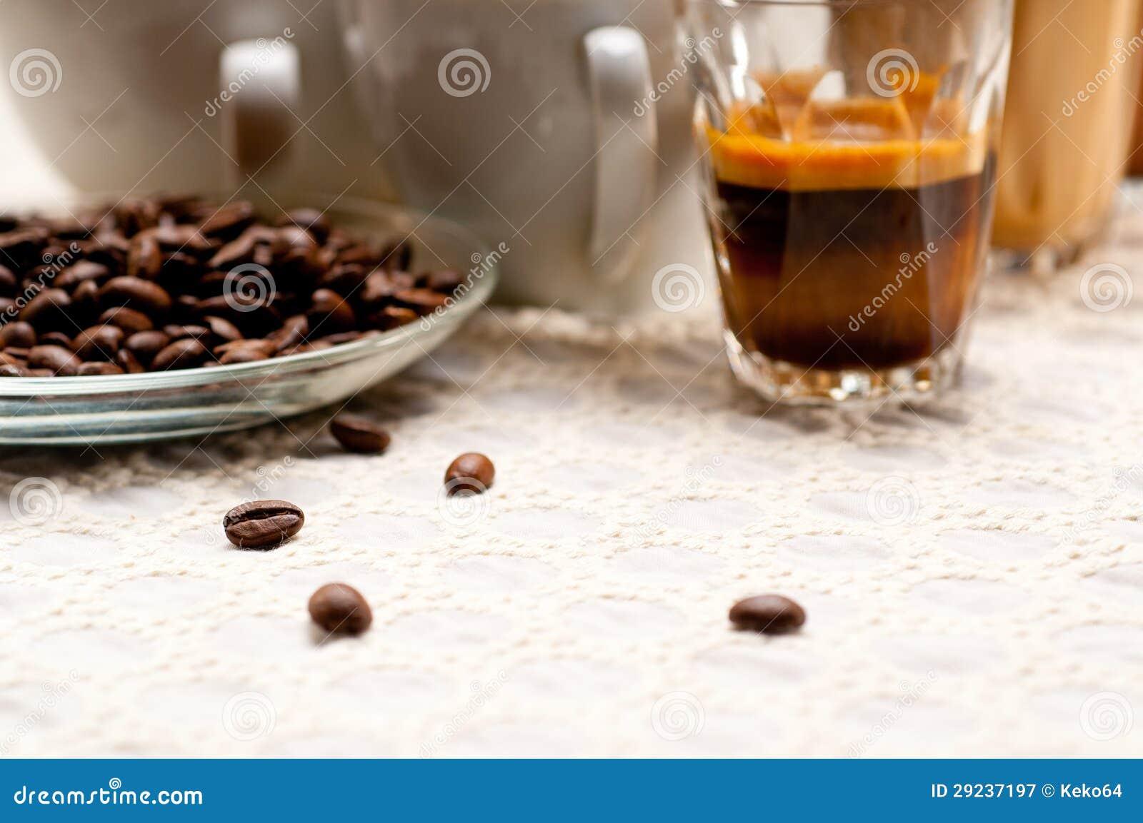 Download Seleção Do Tipo Diferente Do Café Imagem de Stock - Imagem de addiction, escuro: 29237197