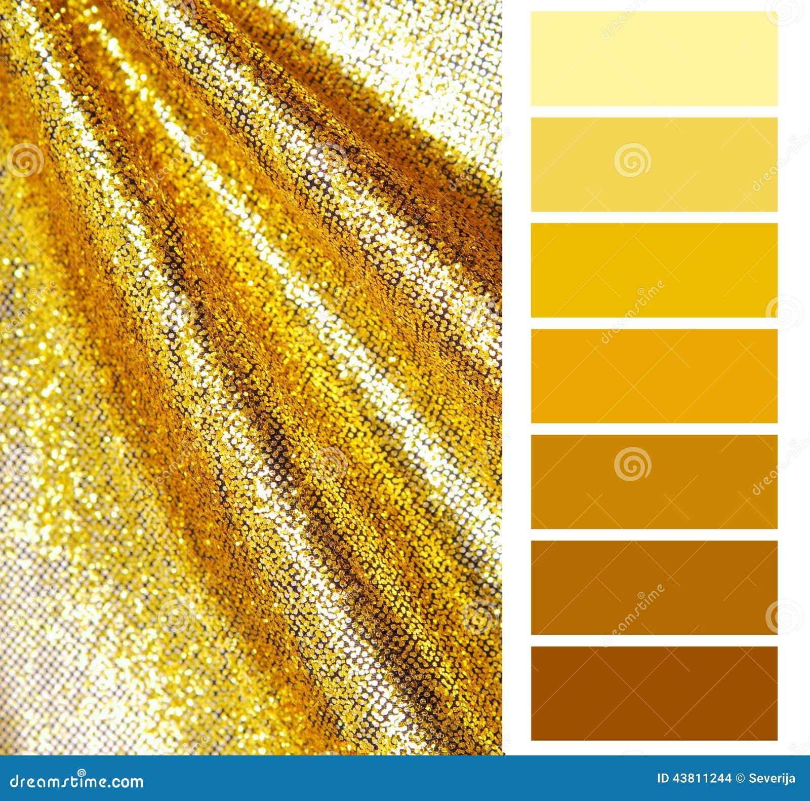 217fc90aa Seleção Dourada Da Escala De Cores Foto de Stock - Imagem de dourado ...