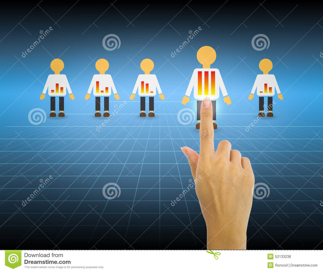 select people stock photo