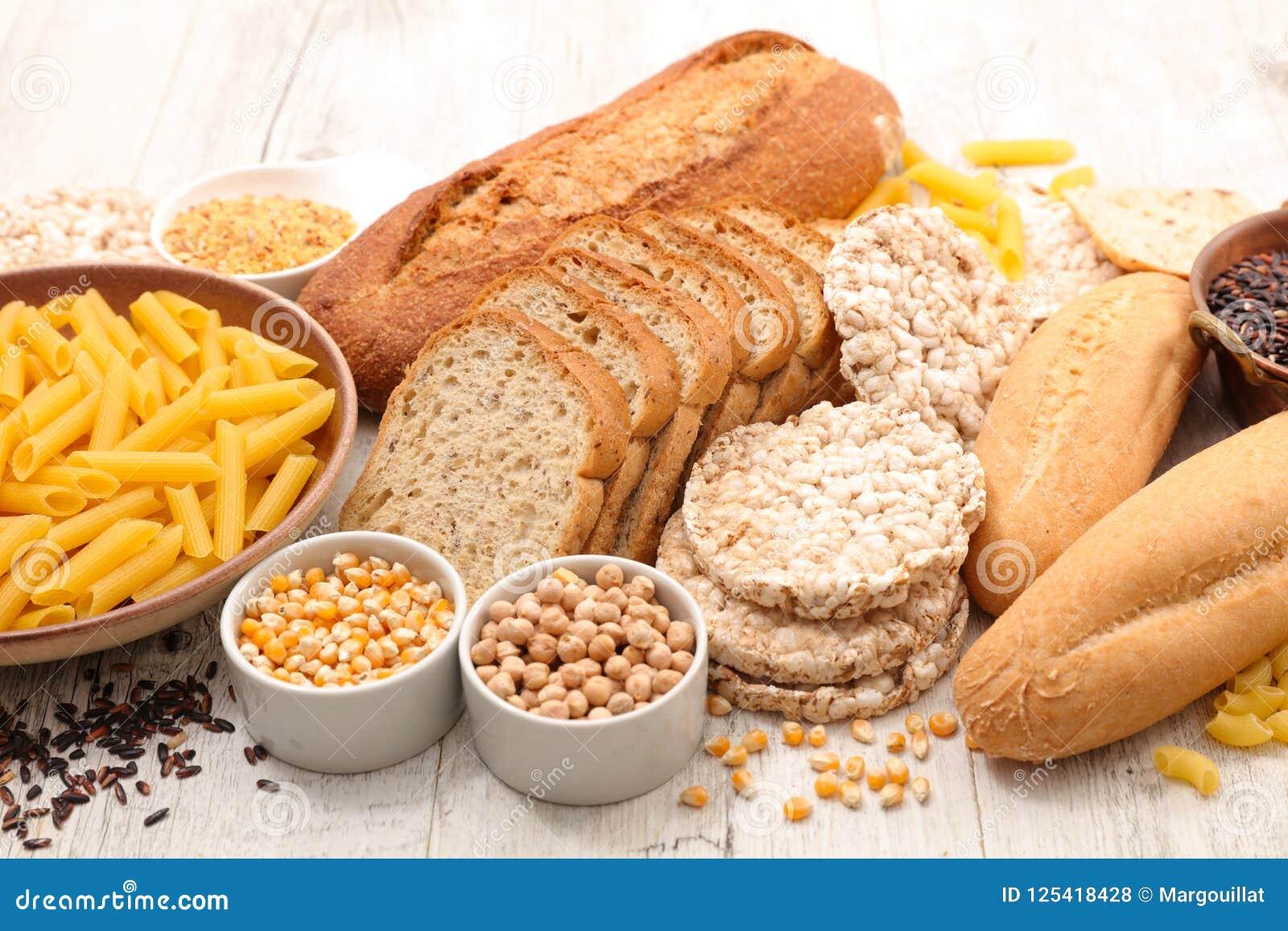 Selectie van vrije voedselgluten