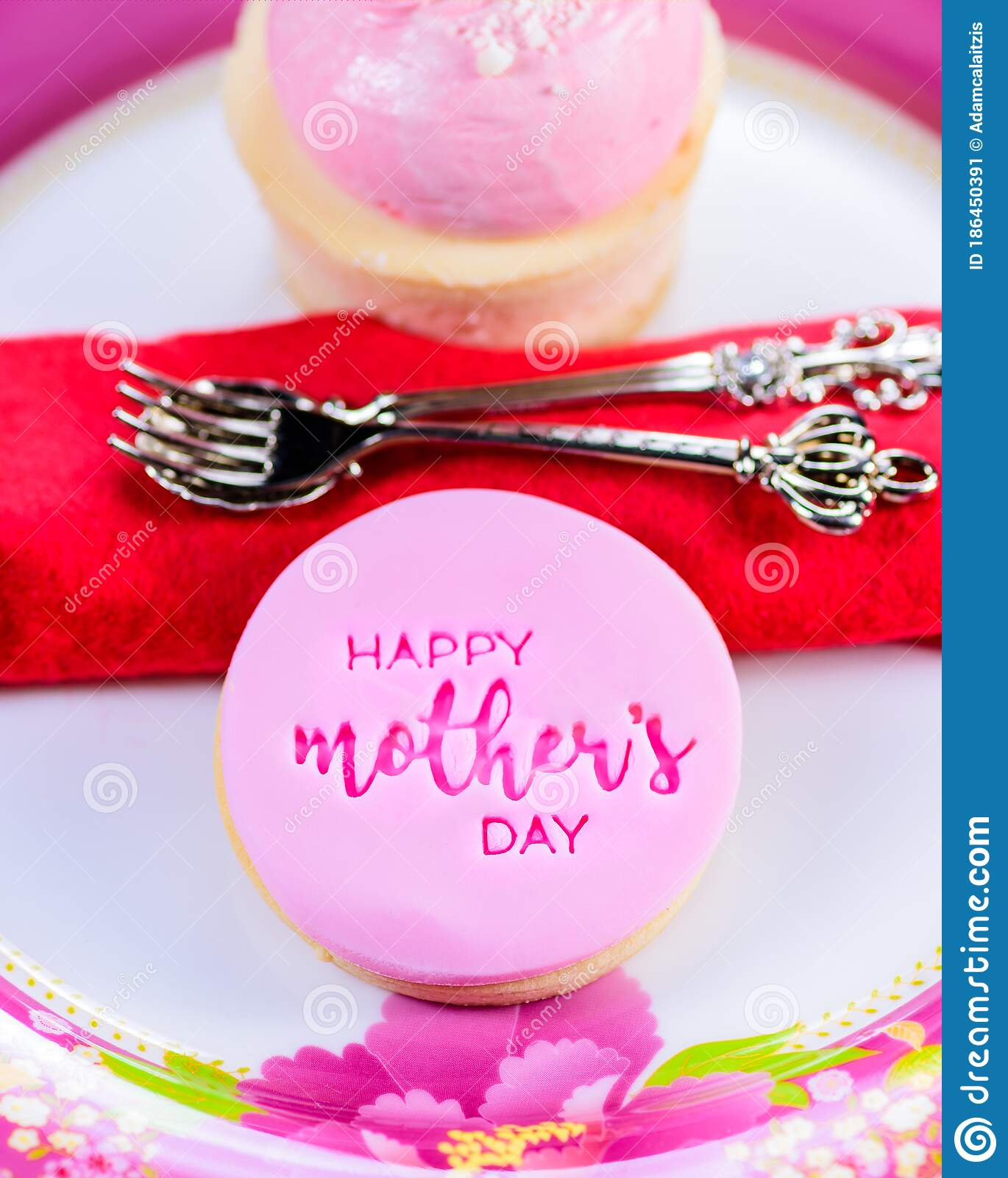 Mother S Day Cookie Stock Image Image Of Celebration 186450391