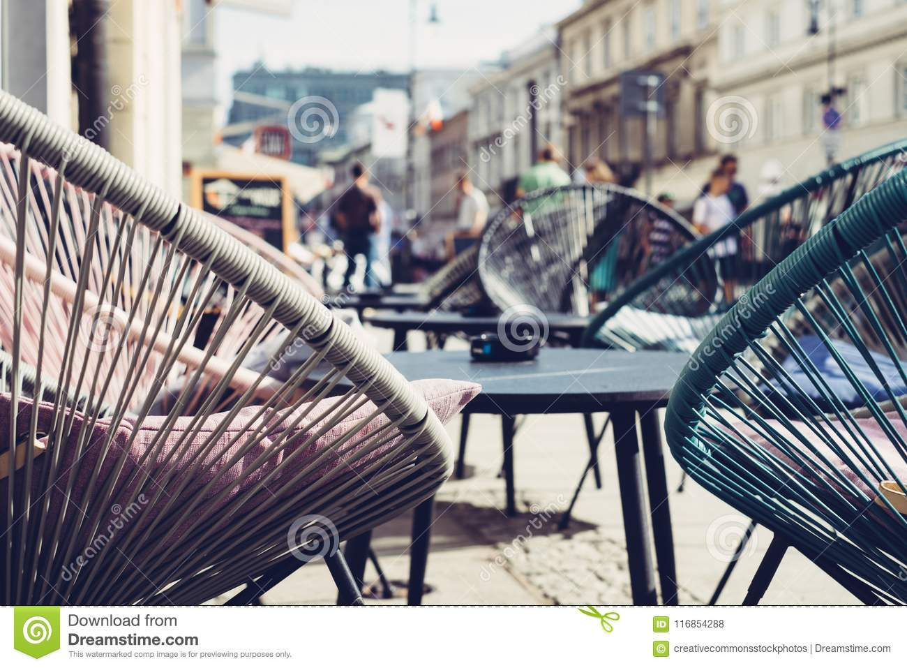 Magnificent Selective Focus Photography Of Patio Set Near Walking People Home Interior And Landscaping Ologienasavecom