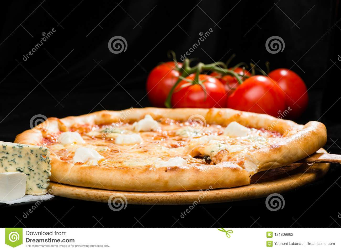 Selective Focus On Sliced Piece Of Appetizing Italian Cheese Pizza With Mozzarella Gorgonzola Emmental And Parmesan Cheese On D Stock Photo Image Of Mozzarella Crust 121809962,Part Time Data Entry Jobs From Home