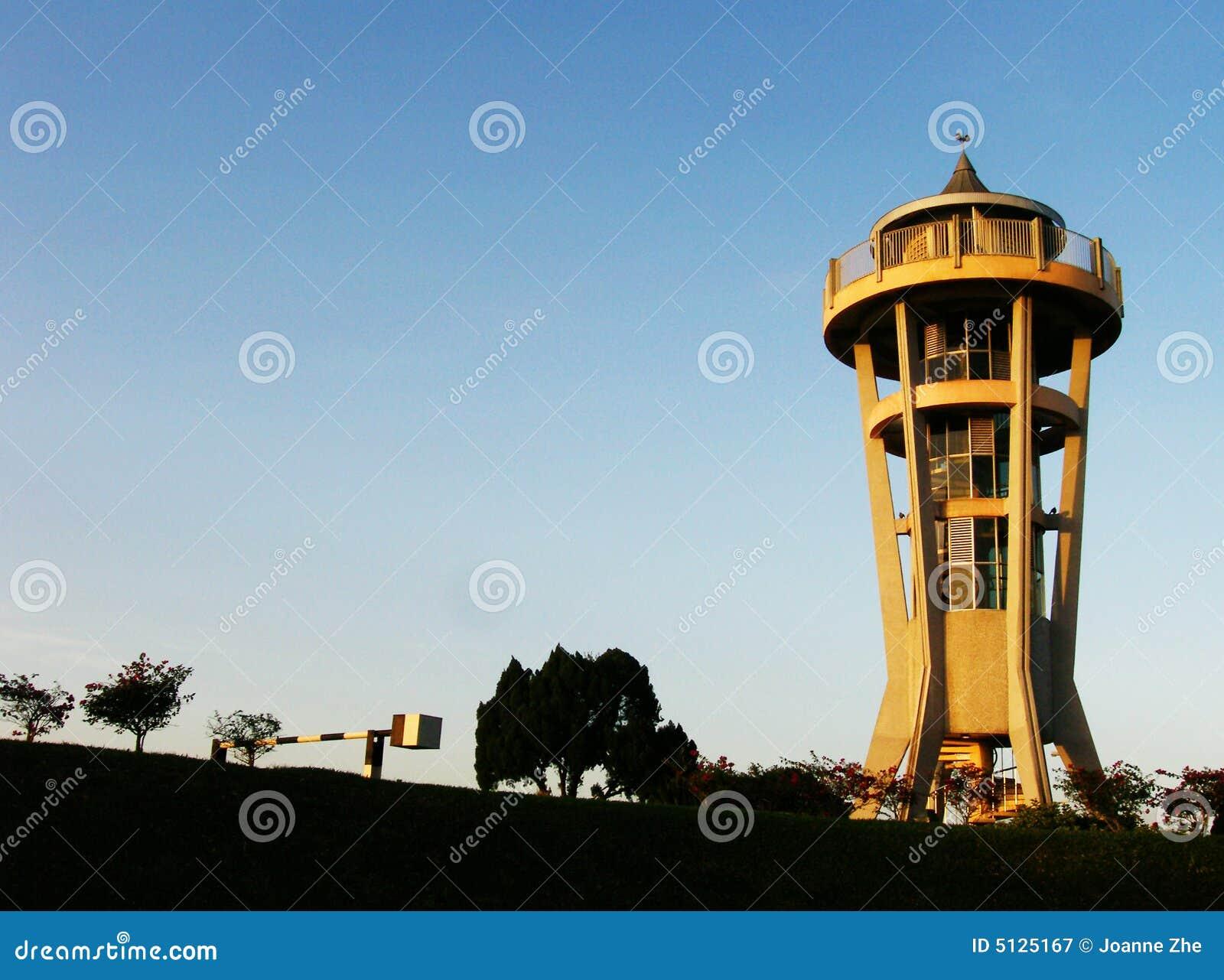 Seletar Reservoir Lookout Tower Royalty Free Stock