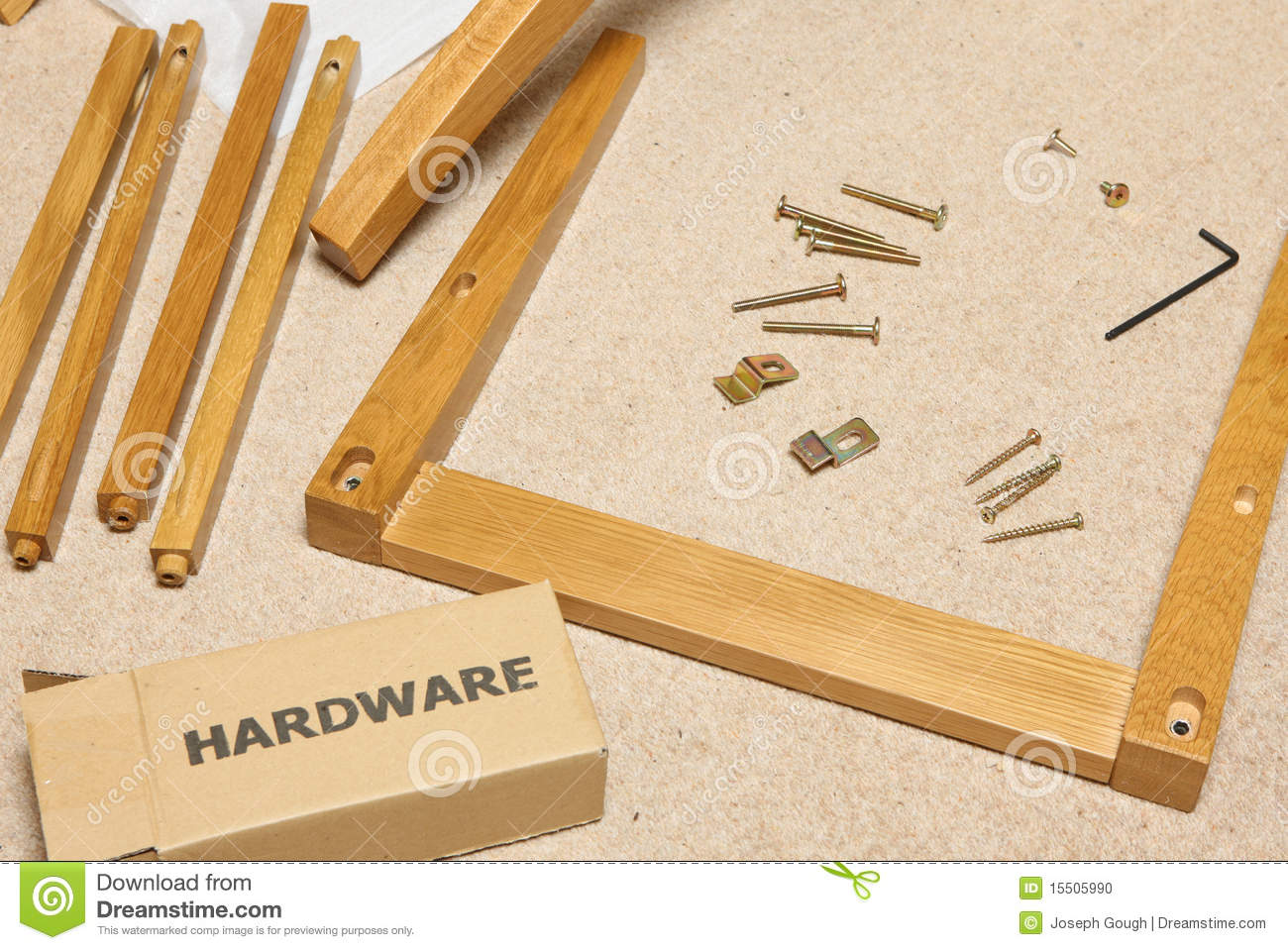Royalty Free Stock Photo. Download Self Assembly Furniture ...