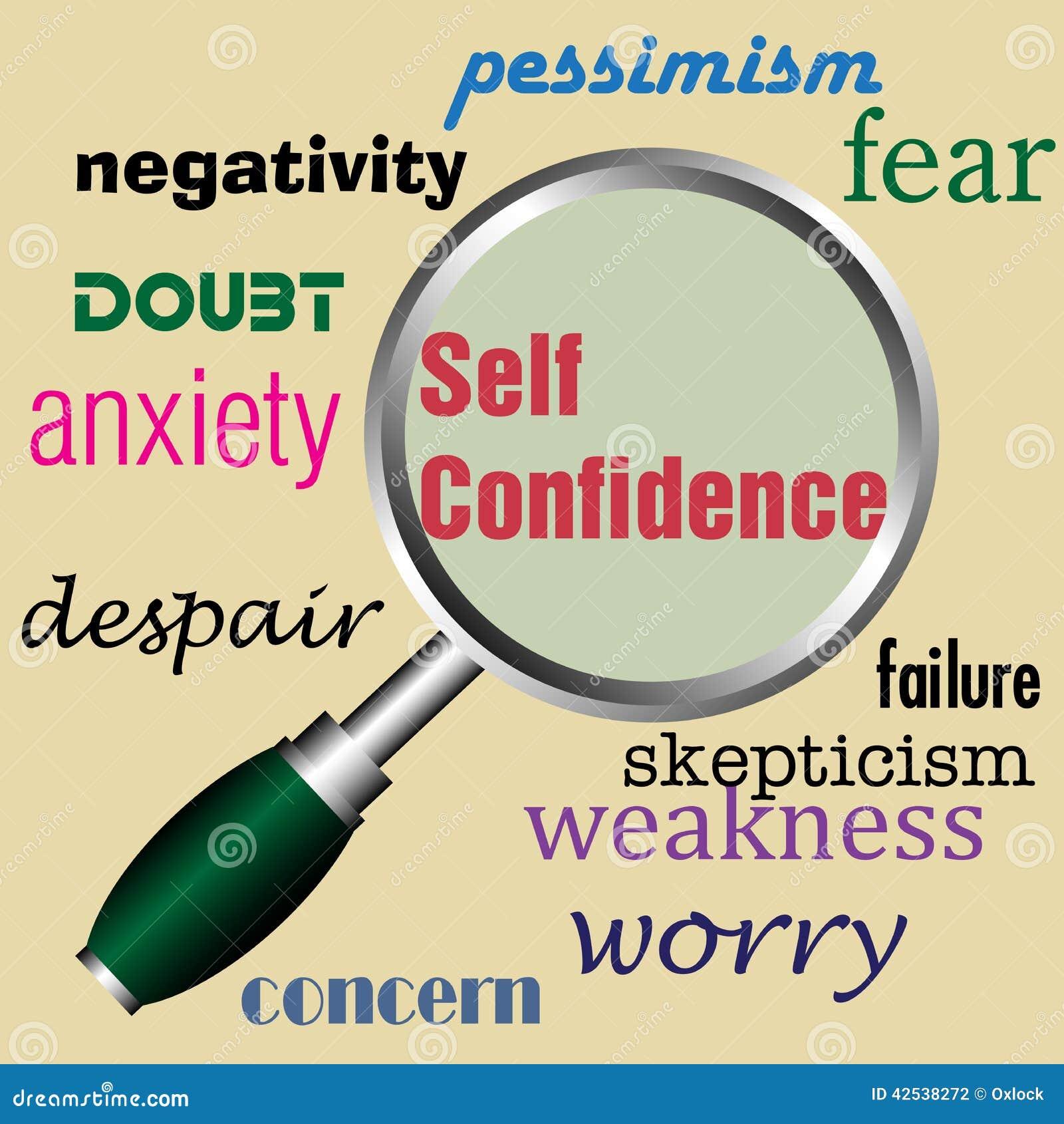 Self Confidence Stock Vector - Image: 42538272