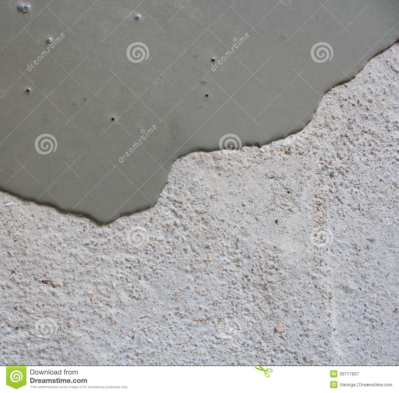 Concrete Self Leveling Floor Compound : Self leveling compound spreading stock image of
