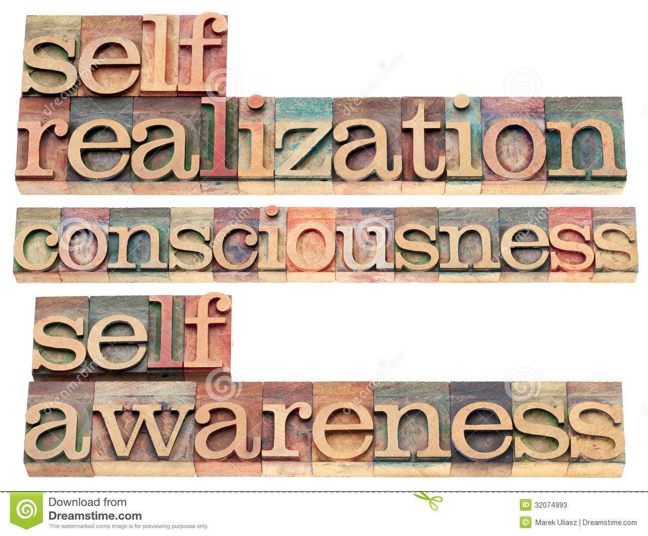 Self-realization, Consciousness And Self-awareness Words I ...