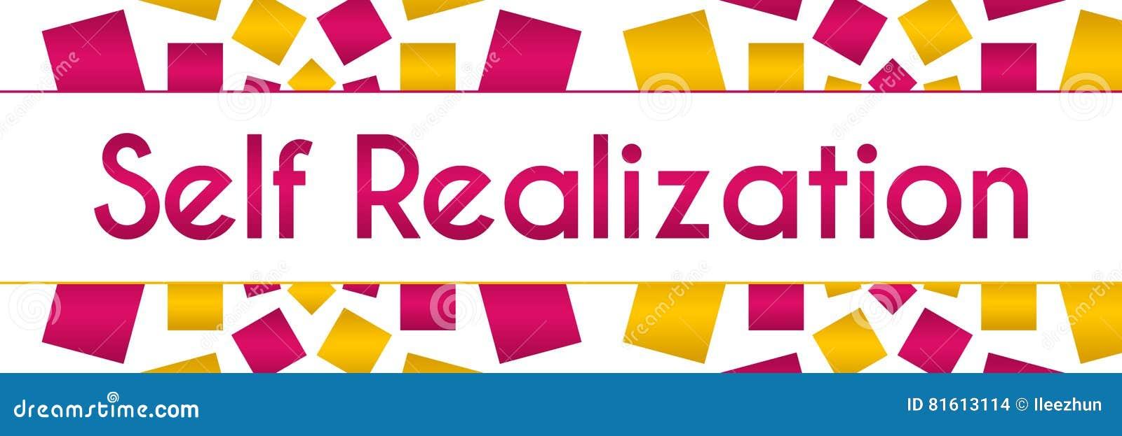 Self Realization Pink Golden Texture Horizontal Stock