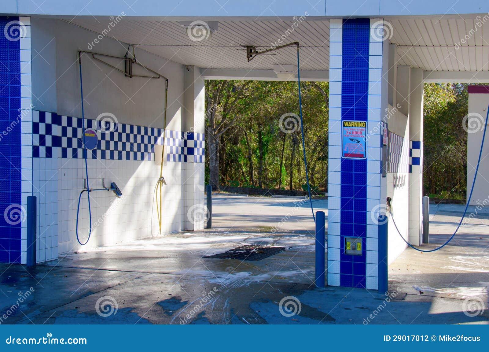 Self Serve Car Wash Stock Photography Image 29017012
