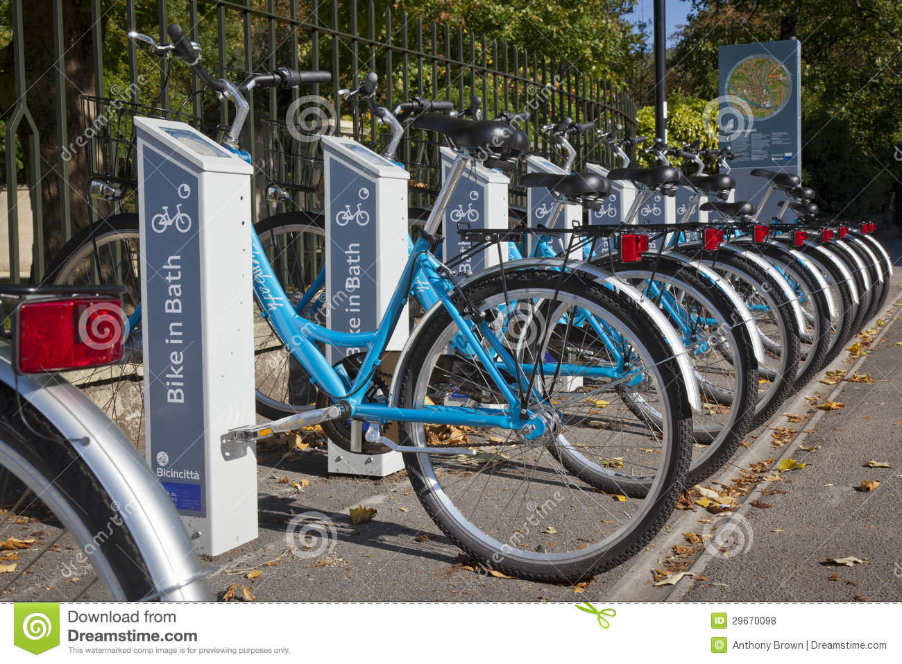 Self service bike rentals in bath editorial stock photo image 29670098 Motor cycle rentals